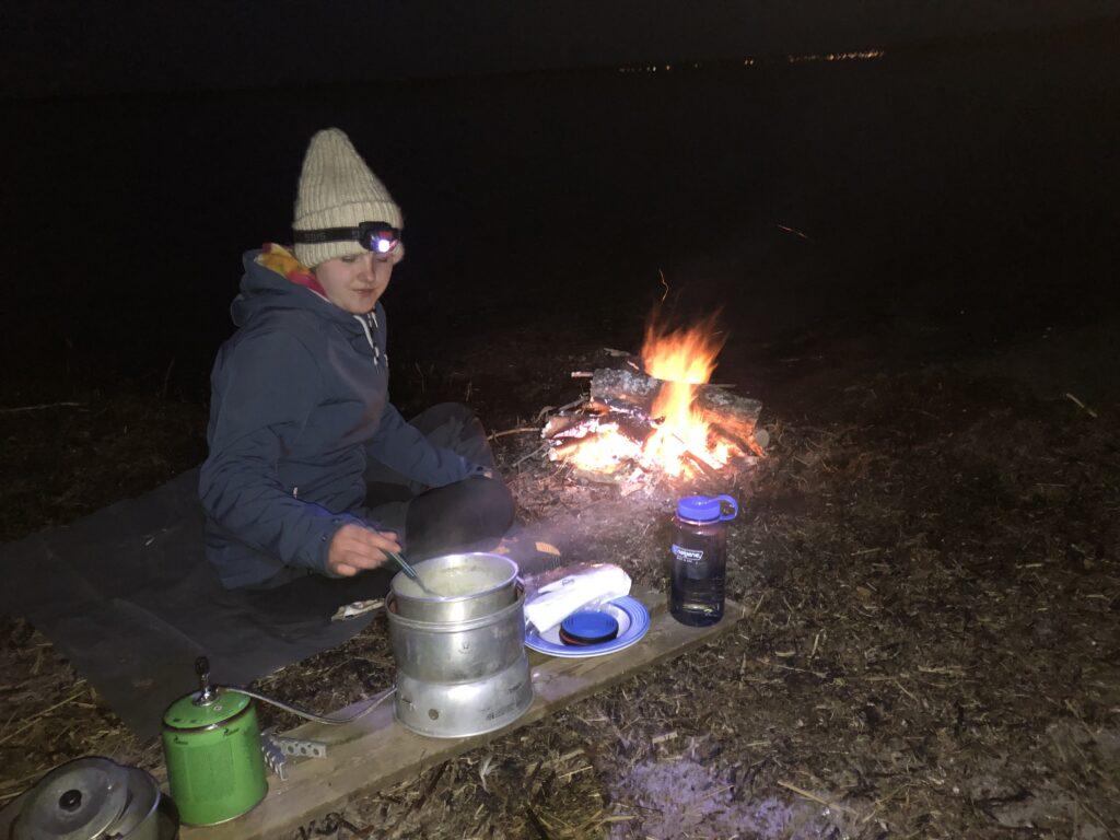 Mathilde laver mad